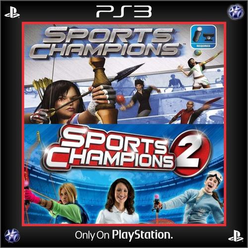 Sports Champions 1 & 2 Ps3 Digital Español