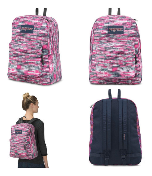 Mochila Jansport Superbreak 100% Original 25lts Js00t5010jv