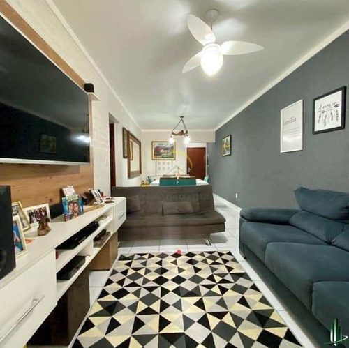 Imagem 1 de 14 de Apartamento Com 2 Dorms, Canto Do Forte, Praia Grande - R$ 371 Mil, Cod: 3302 - V3302