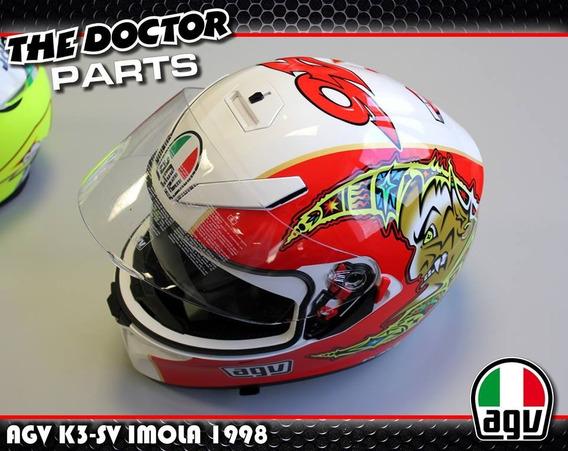Casco Agv K3 Sv Imola 98 Valentino Rossi 46 The Doctor !!!