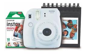 Câmera Instax Fuji Mini 9 Kit Filme+álbum + Nota Fiscal