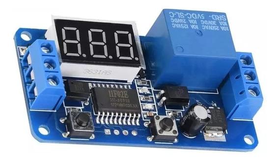 Rele Temporizador Atraso 12v, Display 0~999 Seg Arduino Esp
