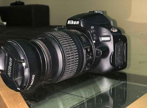 Cámara Profesional Nikon D5100 Como Nueva, Poco Uso.