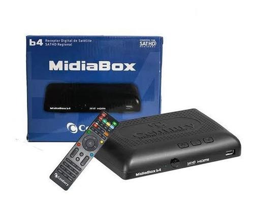 Receptor Digital Hd Century Mídia Box Hdtv B4 Sem Conversor