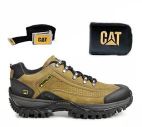 Coturno Bota Tenis Caterpillar Adventure Original + Kit Cat
