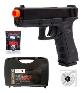 Pistola De Airsoft Gbb Glock G18 Slide Metal Blowback 6mm