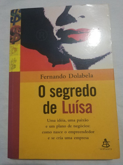Livro O Segredo De Luiza