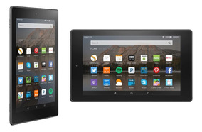 Tablet Amazon Fire Quad Core+ Doble Cámara+ 8gb+ 1gb Ram