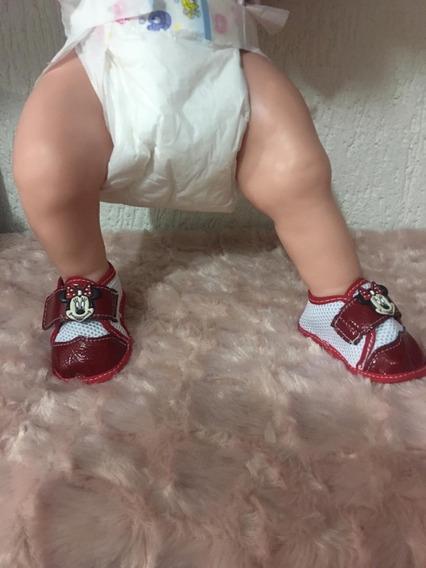 Roupinha Bebê Reborn 6 Sapatinhos N-12