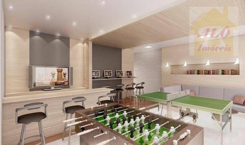 Apartamento À Venda, 124 M² Por R$ 847.000,00 - Canto Do Forte - Praia Grande/sp - Ap1599
