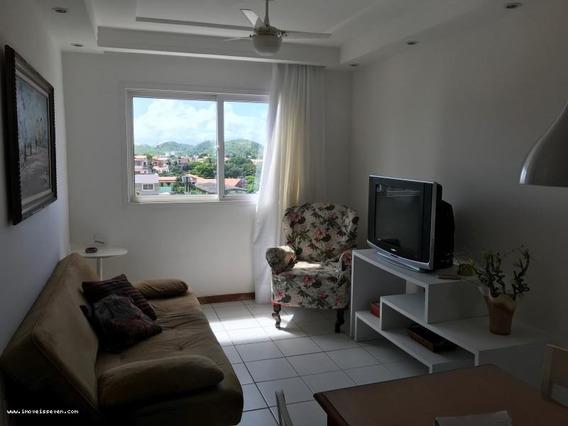 Flat Para Venda Em Natal, Ponta Negra, 2 Dormitórios, 1 Banheiro, 1 Vaga - _1-1088529