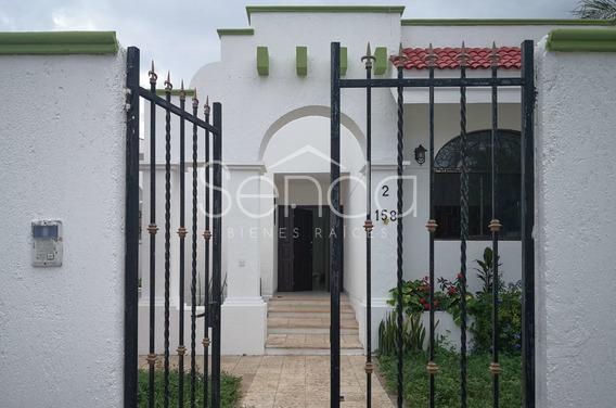 Casa En Renta En Mérida Montecristo De Una Planta Con Paneles Solares
