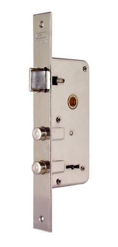 Cerradura De Seguridad Doble Perno Niquelada Prive 2001