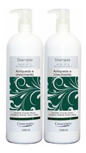 Imagem 1 de 3 de Shampoo Queda Cabelo Ajudam Crescimento Cabelos