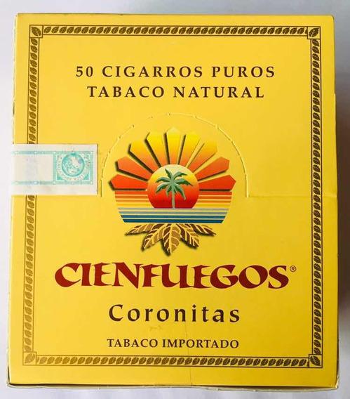 Cienfuegos Puros Habanos Cigarros Xcaja X50 U. Coronitas Cie