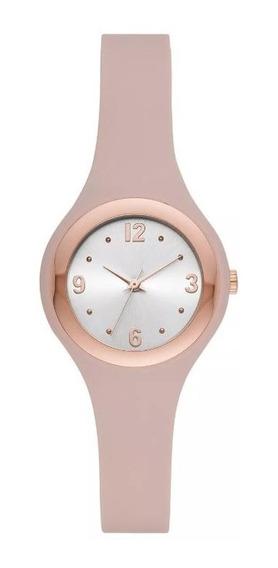 Reloj Analogo De Correa Para Mujer A New Day Rosa Gold Rose