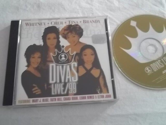 * Cd - Divas - Live\ 99 - Rock Pop Internacional
