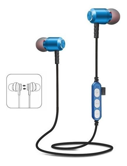 Fone De Ouvido Bluetooth Wireless Sem Fio - Imã Para Pescoço
