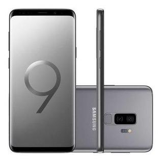 Samsung Galaxy S9 + Plus Cinza - Igual A Novo