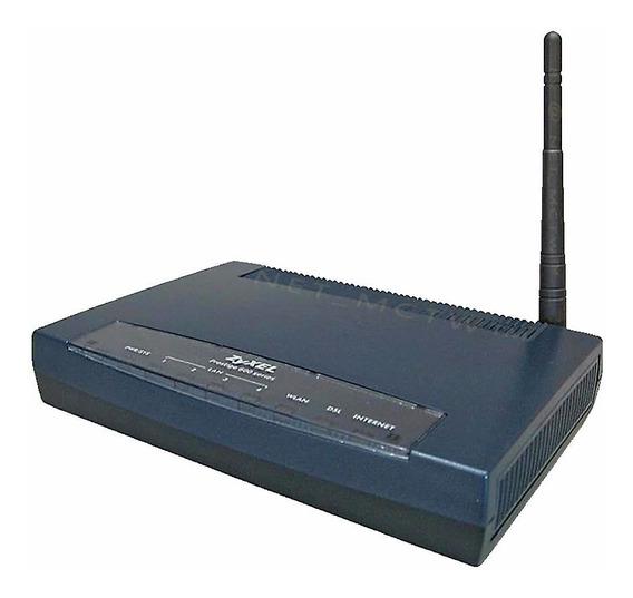 Modem Router Wifi 4 Ports Zyxel 660hw T1 -- Huawei Zte Cisco