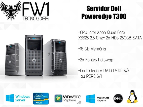 Servidor Dell T300/ Quad Core X3323/ 16 Gb