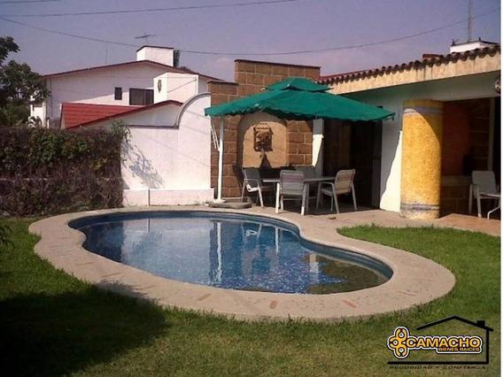 Casa En Venta En Lomas De Cocoyoc Olc-0843