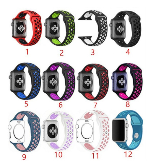 Extensible Sport Correa Uso Rudo Iwatch Serie 1 2 3 4 5