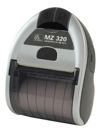 Impressora Térmica Zebra Mz-320 Mz320 Portatil Bluetooth