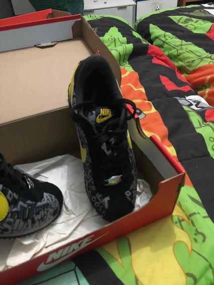 Nike Retro 21 Cm Negros C Amarillo $1300