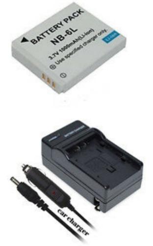 Batería Y Cargador Para Canon Nb - Unidad a $69000