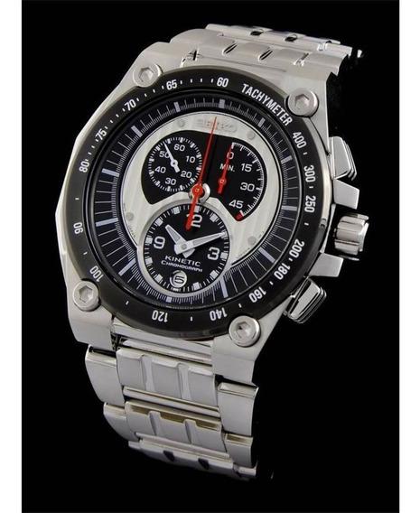 Relógio Seiko Kinetic Sportura - Raro Único Do Brasil