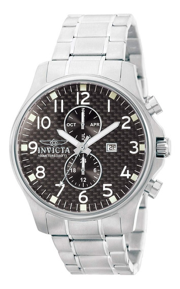 Invicta 0379 Reloj Hombre Ii Colección Acero Inoxidable-100m