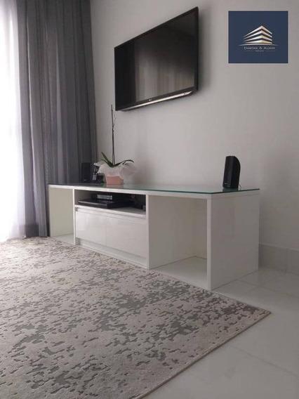 Apartamento No Condomínio Enjoy, 82m², 3 Dormitórios, 1 Suíte, 2 Vagas, Estuda Permuta. - Ap0741
