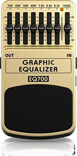 Ecualizador Gráfico De Behringer Eq700