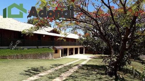 Chácara Com Casa De Madeira Em Jundiaí, Aceita Apto Menor Valor, Carros - 753