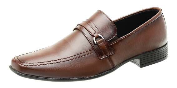 Sapato Casual Masculino Social De Couro Promoção Barato