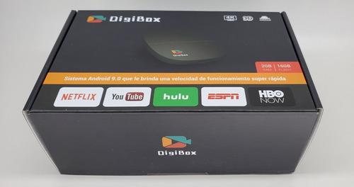 Tv Box Digibox 4k Adaptador De Tv A Smart Tv Android 9.0 2gb