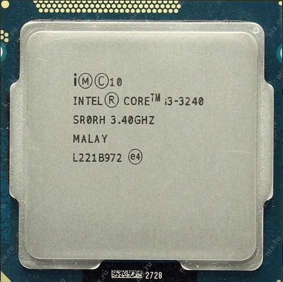 Intel Core I3 3240 Lga 1155 3.40 Ghz 3mb Cache Garantia