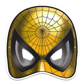 8872f50f3ea943 Máscara Aranha Colorido Com Impresso - 01 Unidade