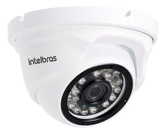 Camera Dome Ip Intelbras Full Hd Ext Infra Vip 1220d 2.8mm