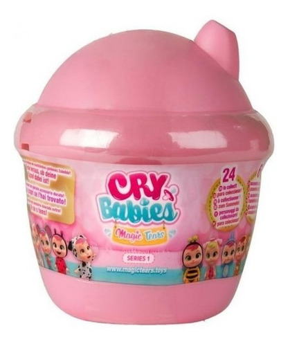 Imagen 1 de 3 de Cry Babies Mini Muñeca Sorpresa Magic Tears Serie 1