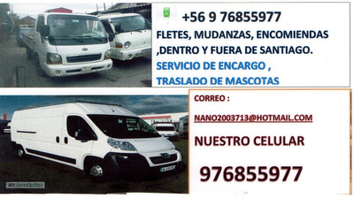 Fletes Mudanzasstgo Y Regiones Retiro Cachureo 569-76855977