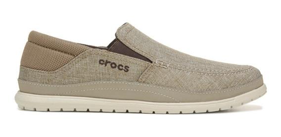 Zapatos Crocs Santa Cruz Playa Khaki Envíos A Todo El País