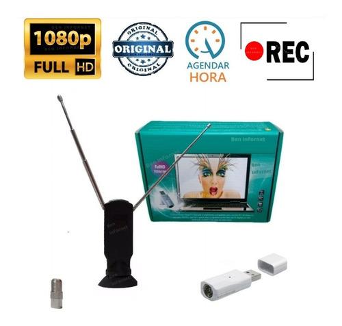 Mini Receptor De Tv Digital Usb Full Hd 1080p Como Blu-ray