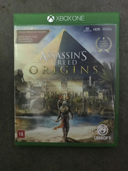 Assassins Creed Origins - Xbox One - Mídia Física