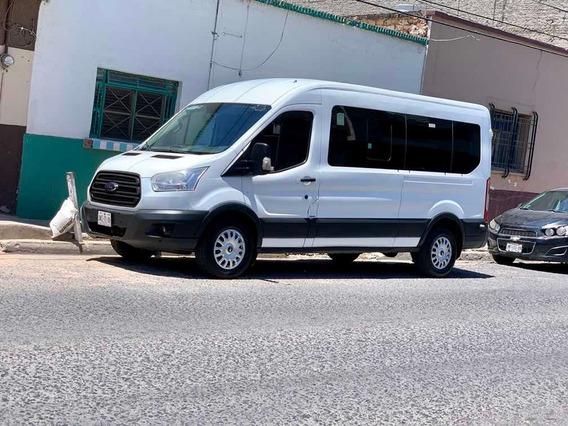 Ford Transit 2.2 Diésel Bus 15 Pasajeros Mt 2015