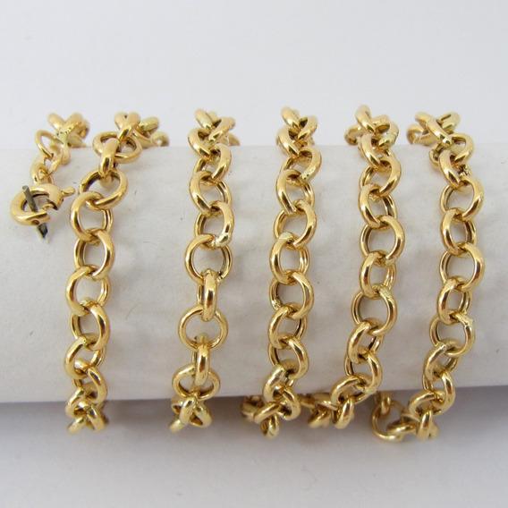 9383 Corrente 50 Cm De Ouro 18k 750