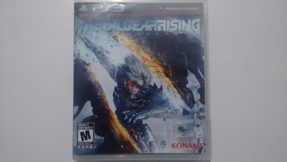 Metal Gear Rising - Ps3 - Completo