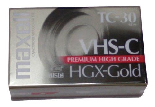 Cassette Vhs-c Filmadora Tc-30 Vhsc X 12 Unidades  Caballito