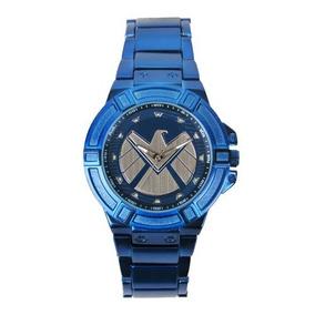Relógio Pulso Marvel Agentes Da Shield Original E Importado